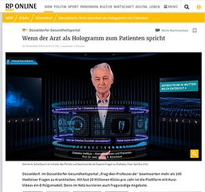 Rheinische Post Artikel über Frag den Professor